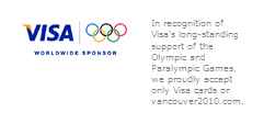 VISA at the 2010 Vancouver Olympic Games